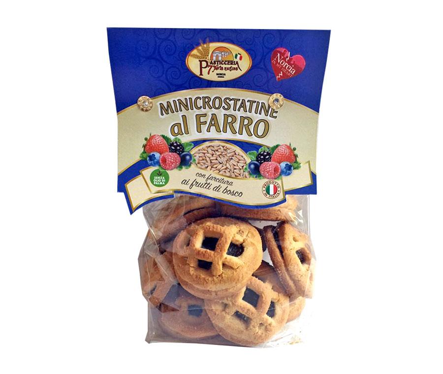 foto minicrostatine-al-farro-frutti-di-bosco