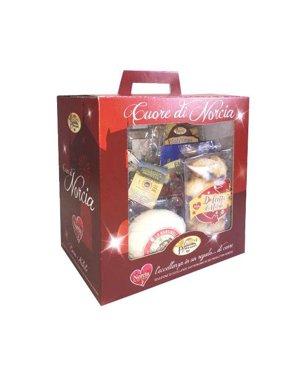 foto cesto natalizio prodotti di norcia
